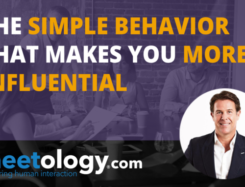 The Simple Behavior that Makes you More Influential
