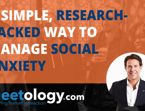 A Simple, Research Backed Way To Manage Social Anxiety