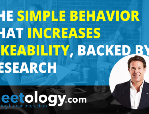 The Simple Behavior that Increases Likeability, Backed by Research