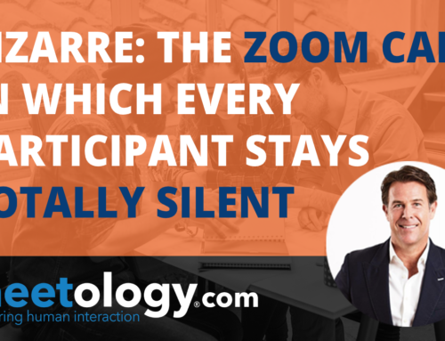 Bizarre: The Zoom call in which Every Participant Stays Totally Silent