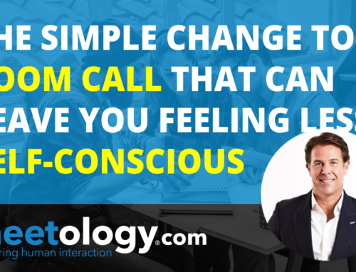 The Simple Change to a Zoom Call that Leaves you Feeling Less Self-Conscious